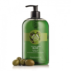 Olīvu dušas želeja