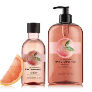 Rozā greipfrūta dušas želeja