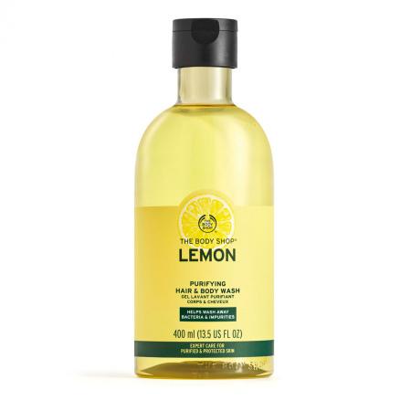 Citrona dušas želeja ķermenim un matiem
