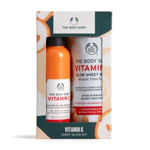 C vitamīna sejas kopšanas komplekts