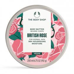 Britu rozes ķermeņa sviestkrēms