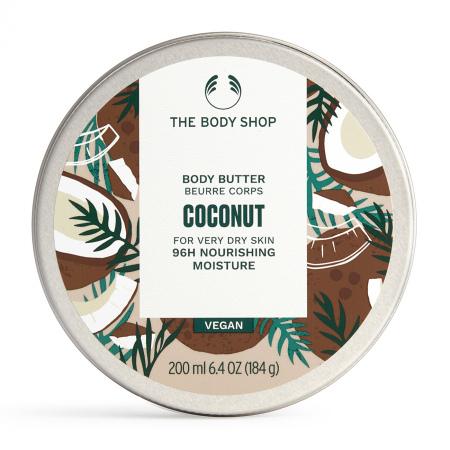 Kokosriekstu ķermeņa sviestkrēms