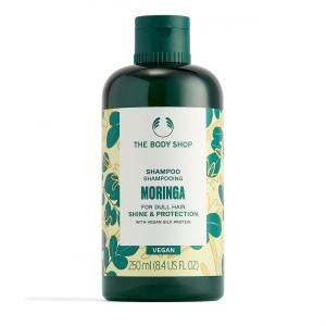Moringas šampūns matu spīdumam un aizsardzībai