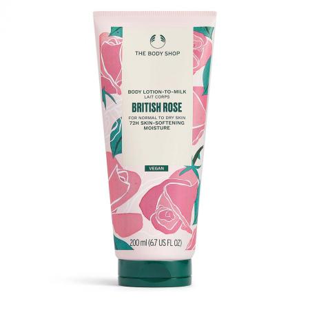 Britu rozes ķermeņa losjons